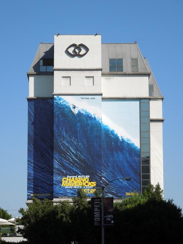 Giant Chasing Mavericks billboard