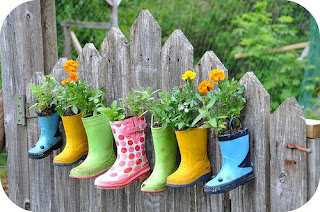 Recycling ideas for garden