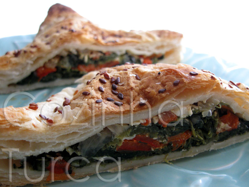 Folhados de Espinafres (Ispanaklı Milföy Böreği)
