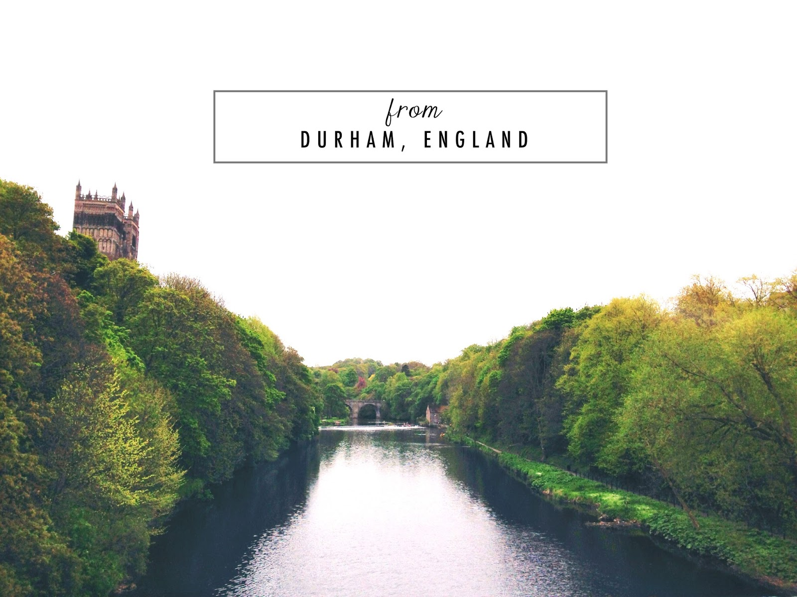 a photo of durham river