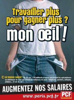 UMP/MEDEF : maintenir les profits en imposant les 32 h avec perte de salaire ! dans Chomage Travailler+plus+PCF
