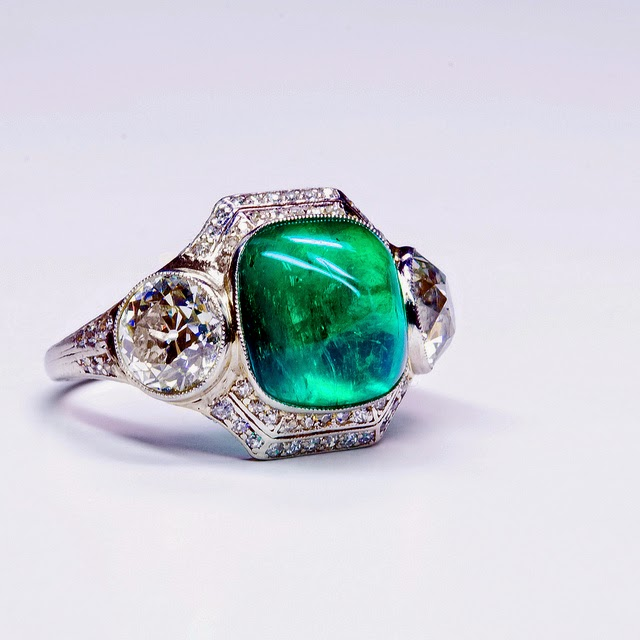 emerald ring panna angoothi