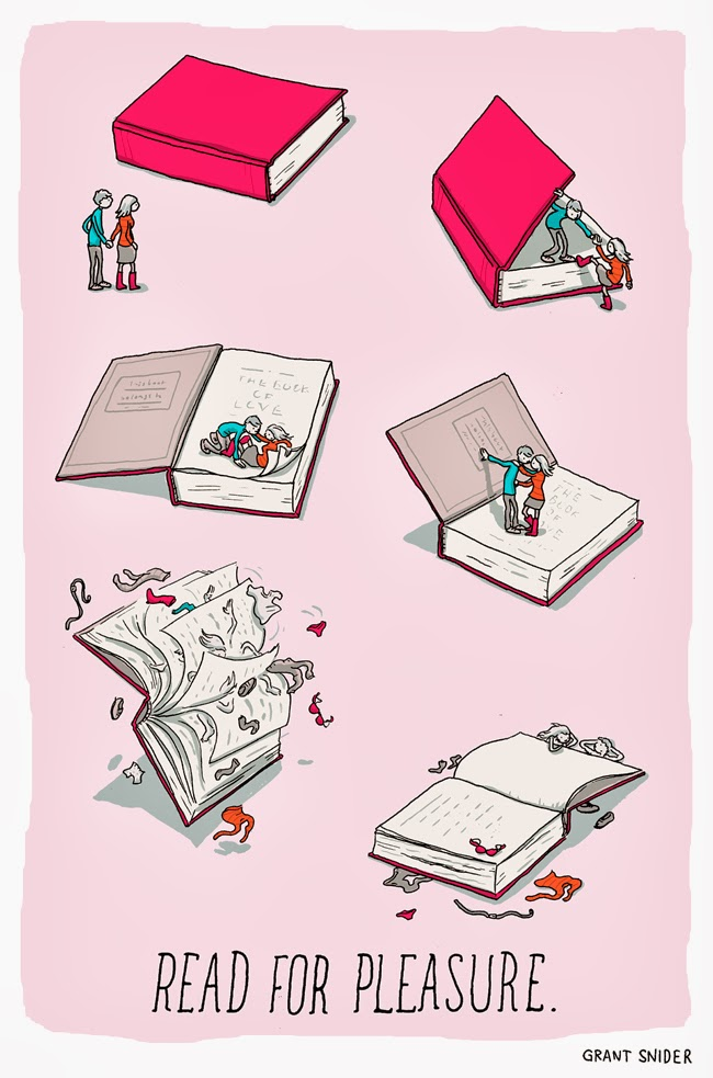 The Joy of Reading from Grant Snider