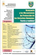 Foro: Venezuela y la Protección de los DDHH