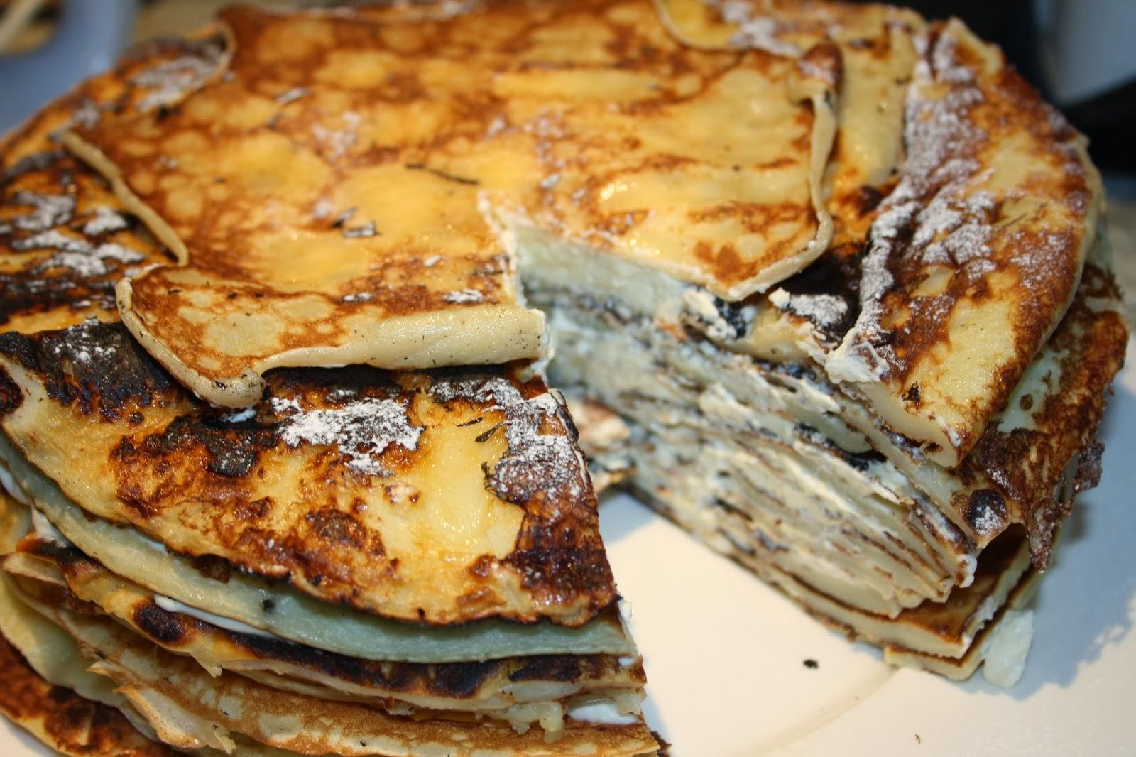 crepe cake pancake cake