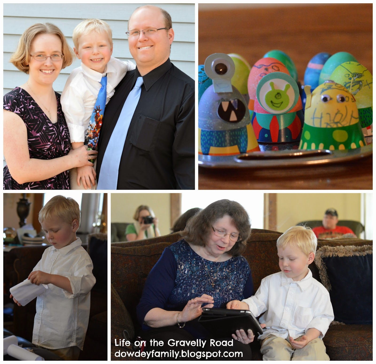 family easter celebration