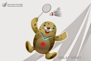 Jadwal Lengkap Pertandingan Bulutangkis Asian Games 2014