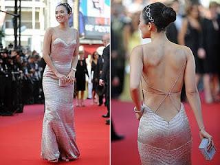 fotos de modelos de Vestidos com Decote nas Costas