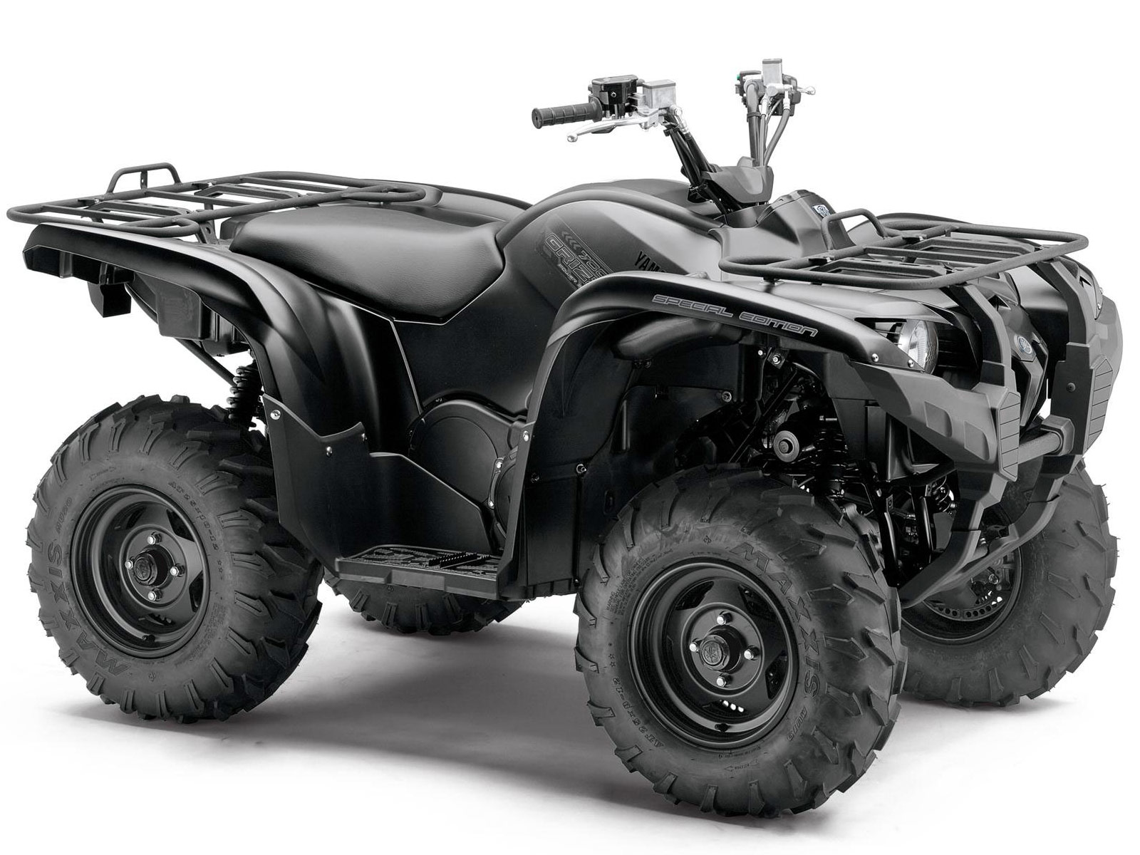 2013 yamaha grizzly 700 fi auto 4x4 eps se review photos
