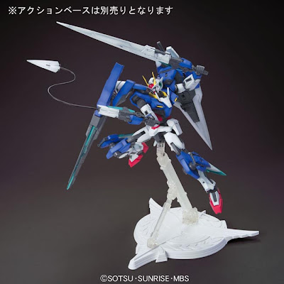 MG 1/100 Gundam 00 Seven Sword/G Box Art