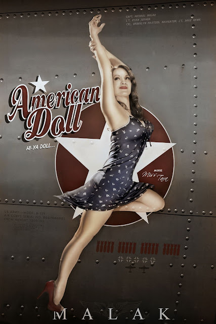 Pin Up Nose Art