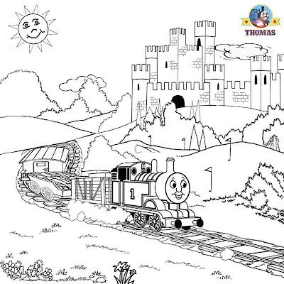 Thomas coloring pictures pages kids activities printable worksheets early childhood education online