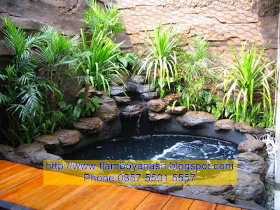 Tukang Taman Surabaya Desain kolam Klasik