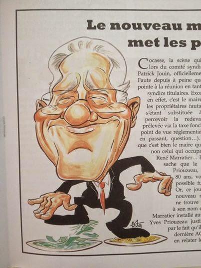 Patrick Jouin Maire de la Faute sur mer par Guillaume Néel