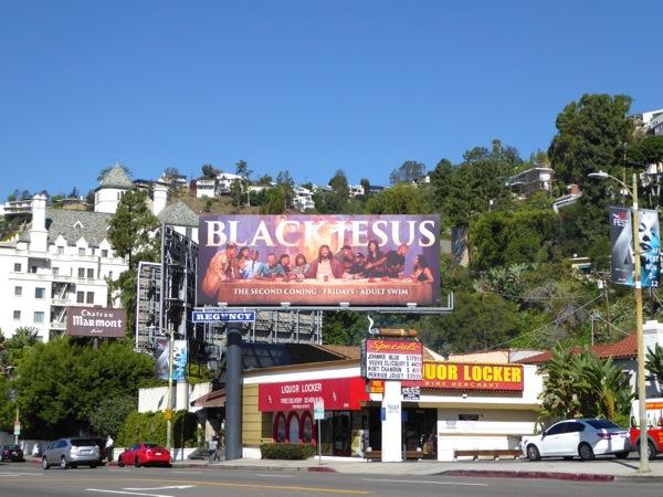 Black Jesus Second Coming billboard