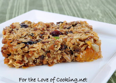 Sweet and Salty Homemade Granola Bars
