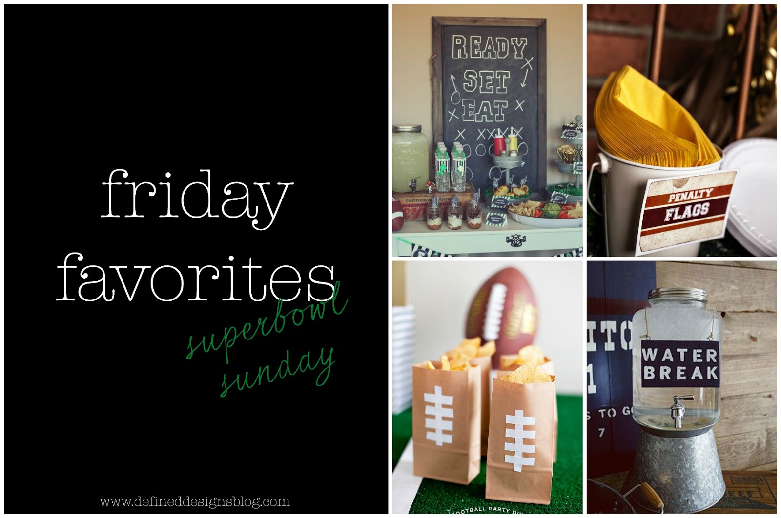 super bowl sunday DIY party ideas