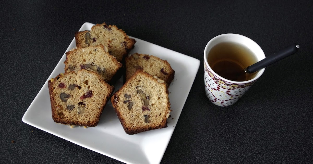Cake Aux Noix Au Chevre Et Abricos Secs