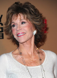 Jane Fonda hairstyle at CNN's