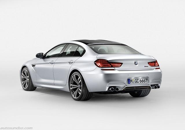Serienausstattung und Preis BMW M6 Gran Coupé