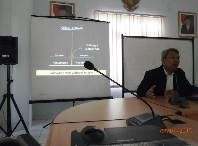 Memotivasi Para Pengasuh & Instruktur PSMP Handayani (Kemensos RI) Jakarta