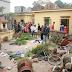 Mê Linh - Hà Nội: Dân đập phá trụ sở UBND, đốt nhà chủ tịch xã