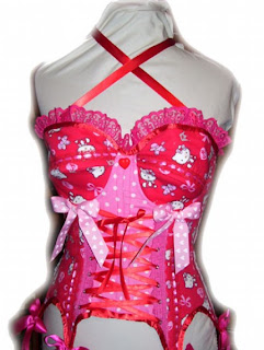 Hello Kitty corset