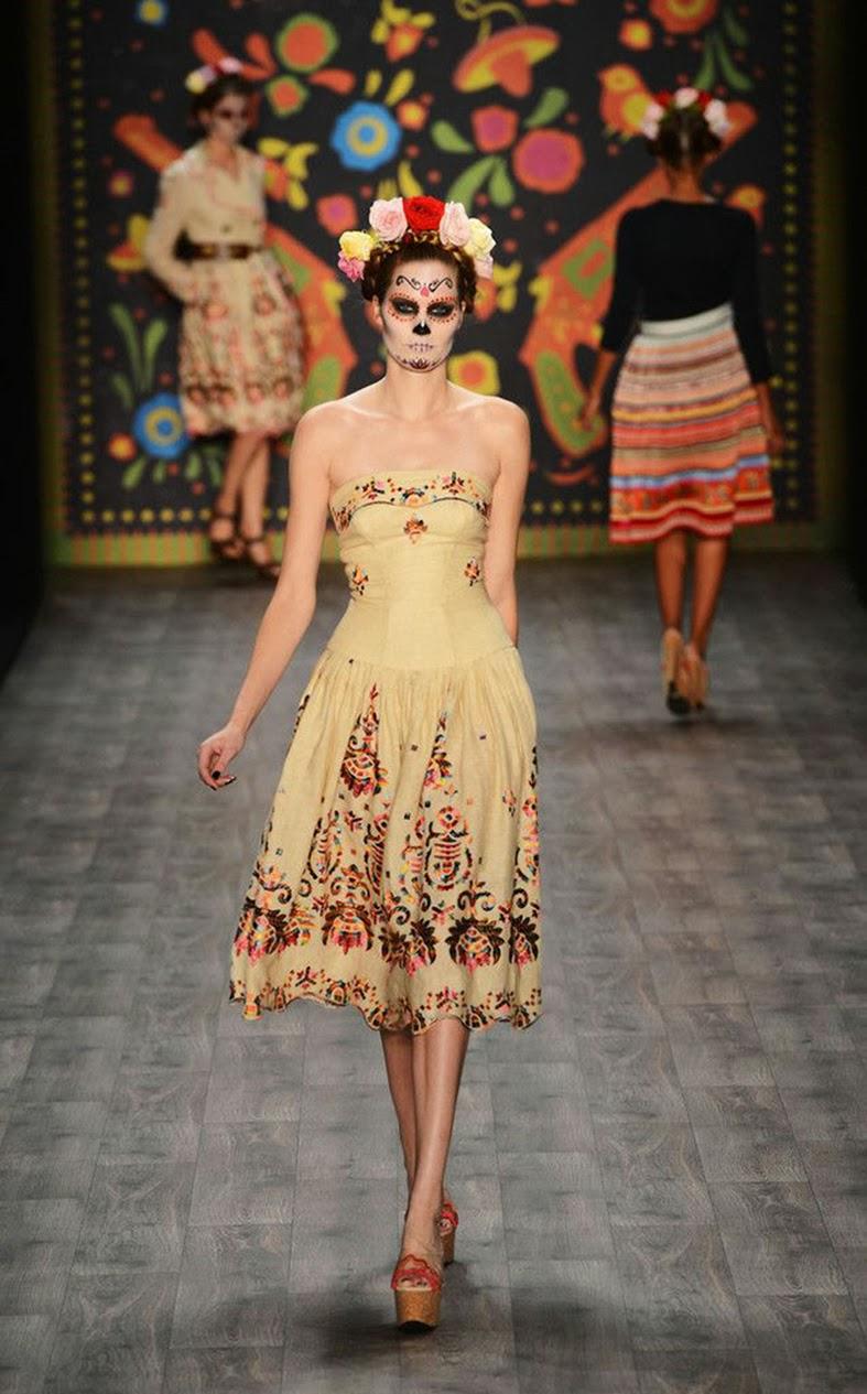 Resultado de imagem para Fiesta de Los Muertos Fashion