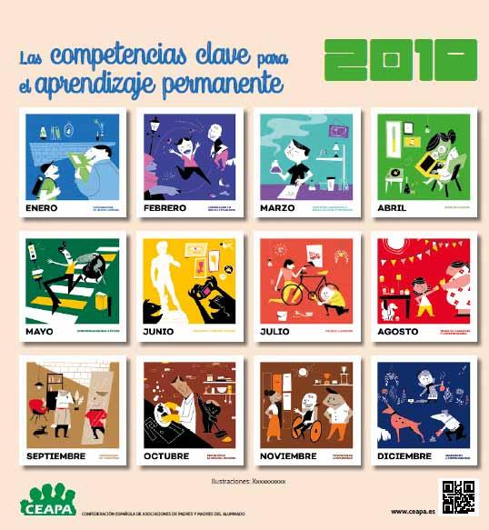 CALENDARIO 2018 PARA EL DESARROLLO DE COMPETENCIAS BÁSICAS EN FAMILIA