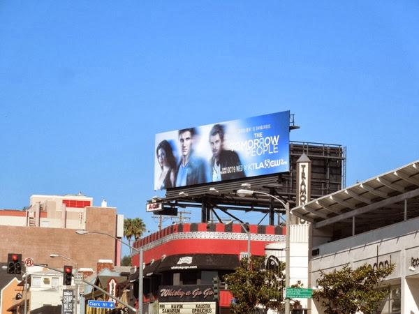 Tomorrow People remake billboard