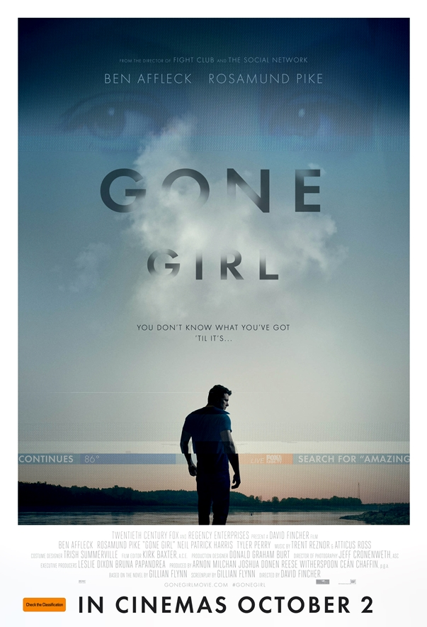 Póster: Perdida (Gone Girl), de David Fincher
