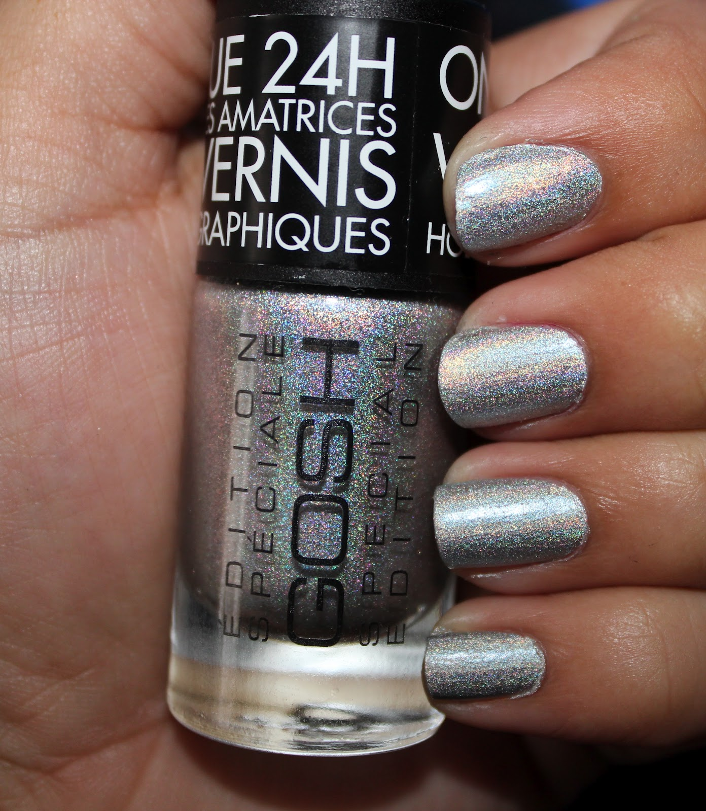 NEW! GOSH Holographic Nail Lacquer!