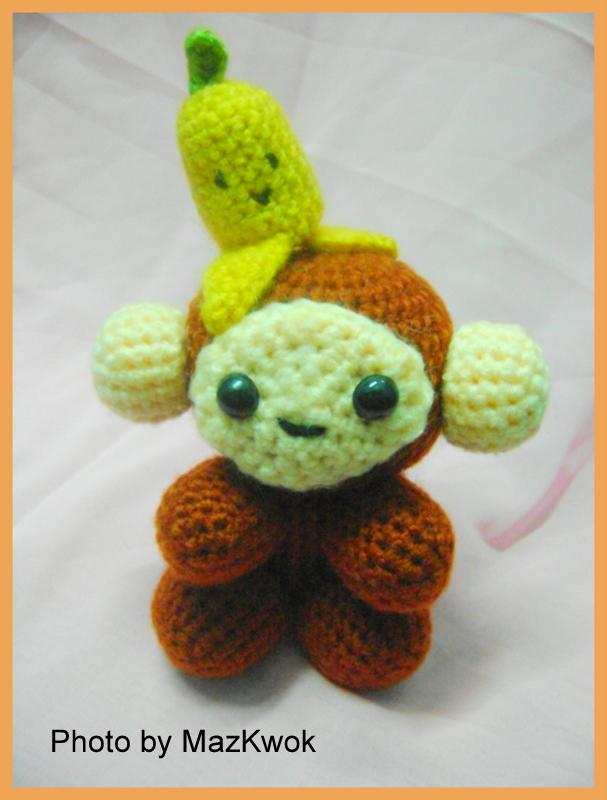 Amigurumi Patterns Free Monkey : Manana boy