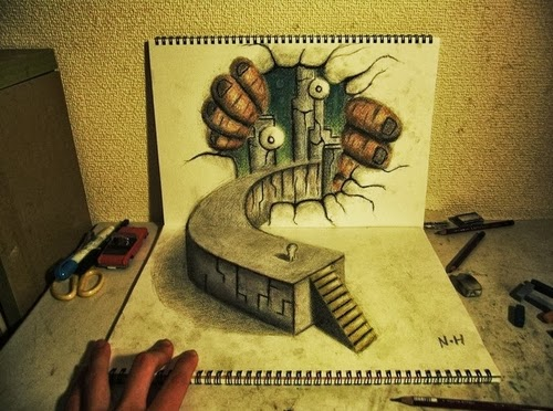 07-NAGAI-HIDEYUKI-Hide-永井-秀幸-3D-Pencil-Drawings-www-designstack-co