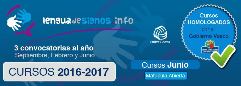 CURSOS DE LENGUA DE SIGNOS