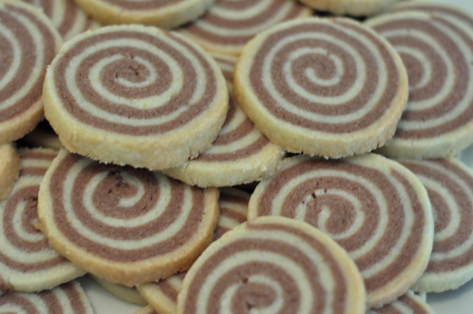 Spirales Sablées Vanille-Chocolat