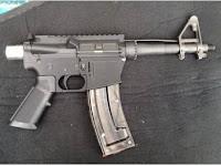 Homem afirma ter produzido parte operacional de uma arma de fogo em uma impressora 3D.