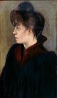SANTIAGO RUSIÑOL Noia de Montmatre c. 1890