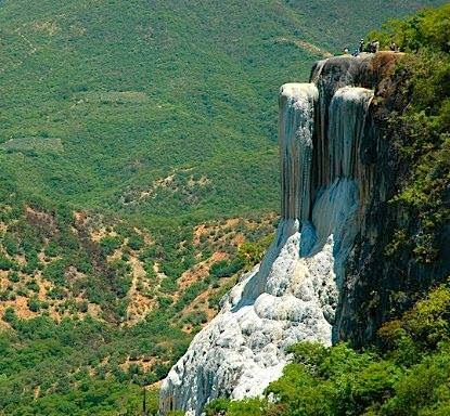 Visita Hierve el Agua - Oaxaca