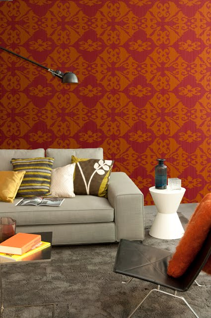 Pintura flamant papeles pintados flamant cosmopolitan for Lober granollers