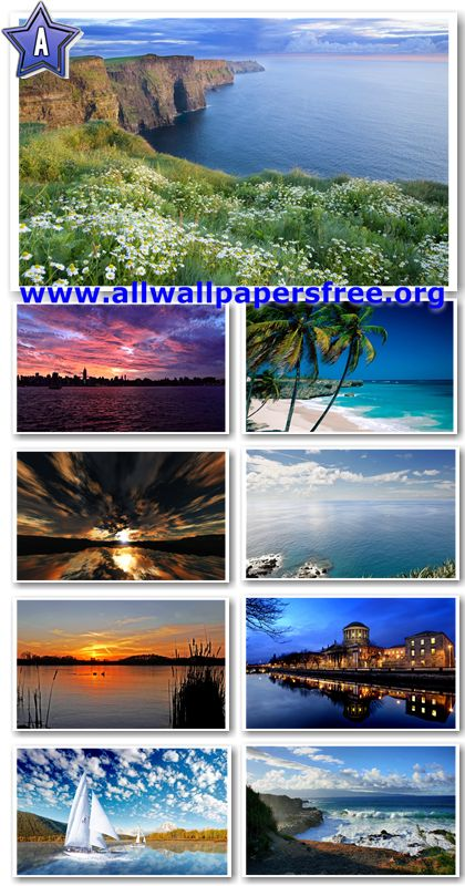 30 Stunning Waterscapes HD Wallpapers 1920 X 1200 [Set 8]