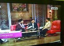 Pendiri dan CEO PesantrenBisnis.Com  Ayi Muzayini bersama Chating dg Yusuf Mansur di AN TV