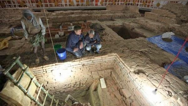 tempat kelahiran buddha, fosil buddha