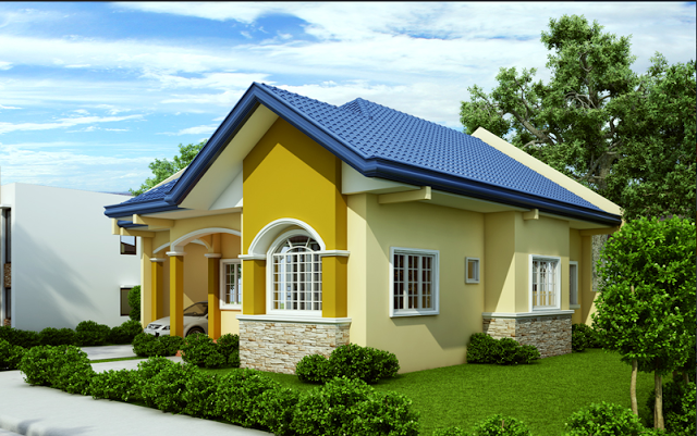 Free estimate of small bungalow house for Small house design worth 300 000 pesos
