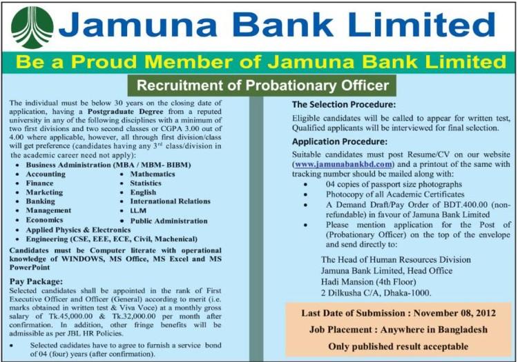 general banking of jamuna bank Kazi iftekhar ahmed officer - general banking at jamuna bank ltd location bangladesh industry financial services.