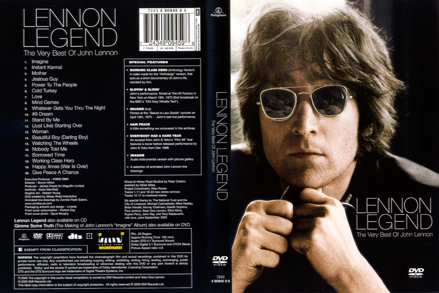 a look at musician john lennon and his music
