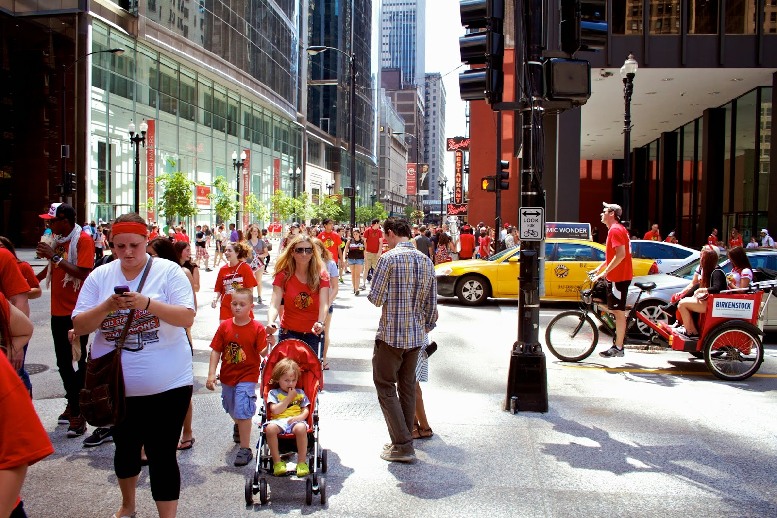 Stanley Cup Champions 2013, Chicago Blackhawks Parade by Tammy Sue Allen Photography.