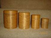 English Beechwood Cannisters