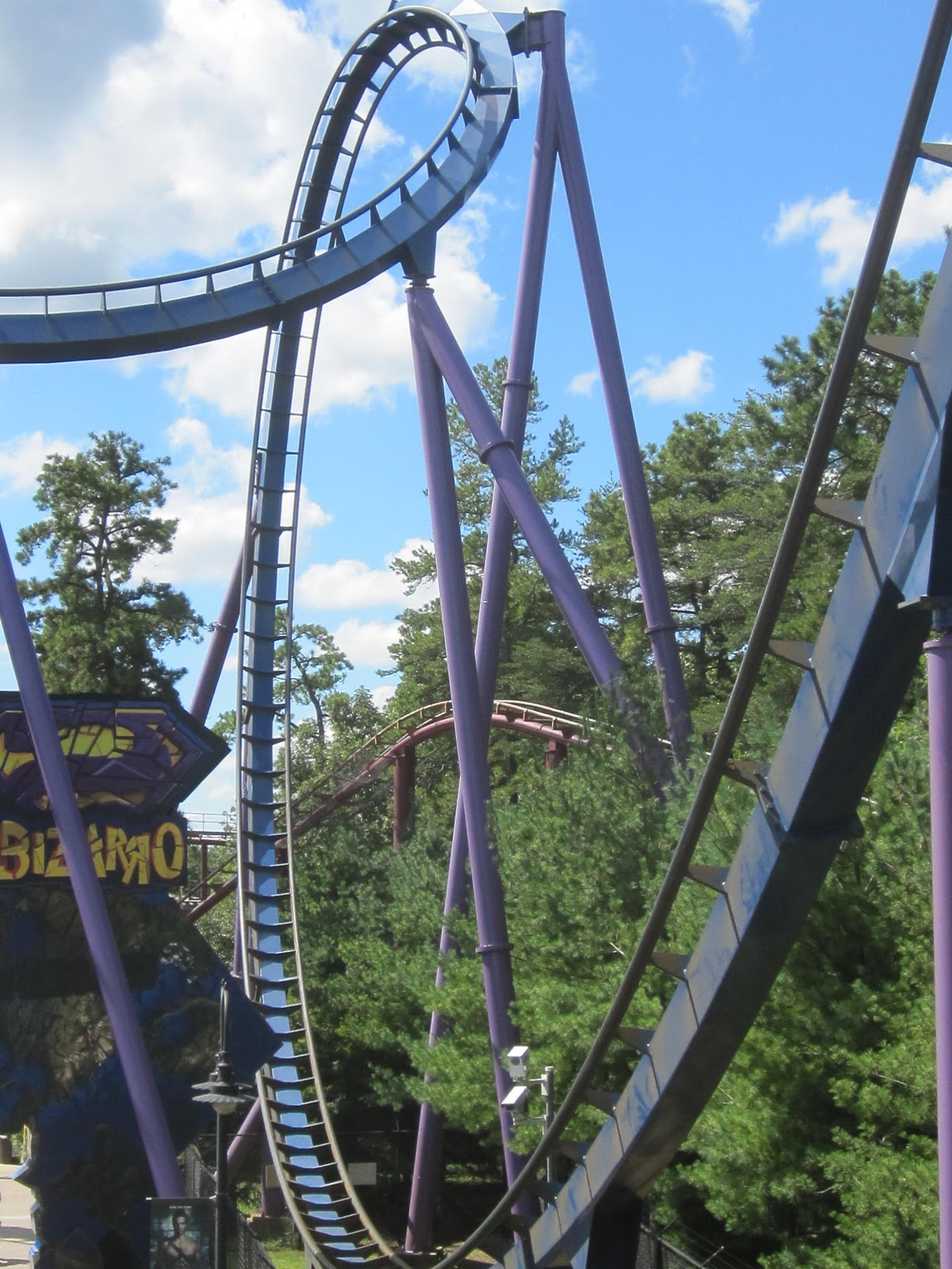 Six Flags Great Adventure Bizarro