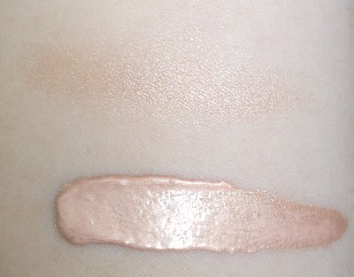 becca shimmering skin perfector swatch opal